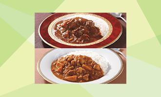 【メール便】新宿中村屋 国産牛肉ビーフカリー&国産鶏肉のチキンカリー セット